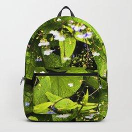 Blue Florets Backpack