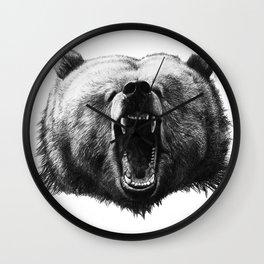 Bear HOBO Wall Clock