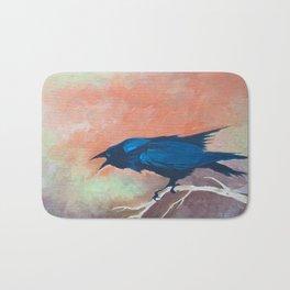 Crow Scream Bath Mat