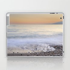 Soft waves. Sunset Laptop & iPad Skin