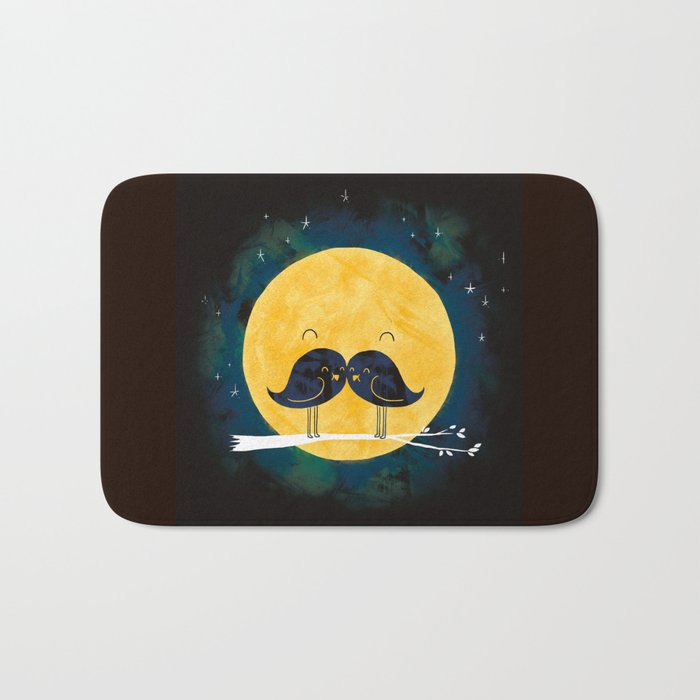 Moonstache Bath Mat