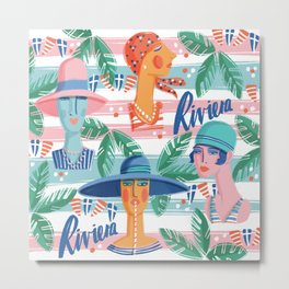 Riviera Metal Print