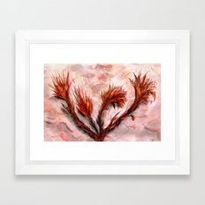 The Fireflowers Framed Art Print