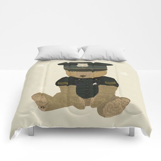 police ted  Comforters