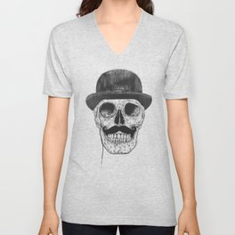 Gentlemen never die Unisex V-Neck