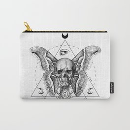 Engraving - Moth Carry-All Pouch