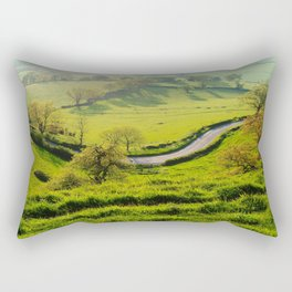 The Bend In The Road Rectangular Pillow