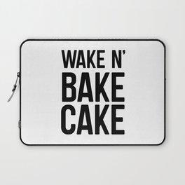 Wake N Bake Cake Laptop Sleeve