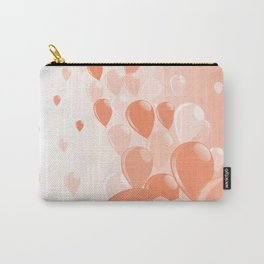 Two Tone Baloons Carry-All Pouch