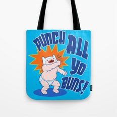 PUNCH ALL YO' BUNS! Tote Bag