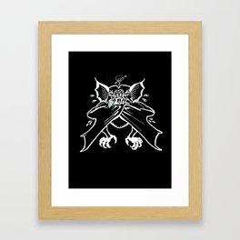 the last bite Framed Art Print