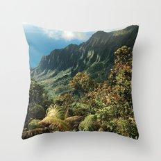 Puu O Kila Throw Pillow