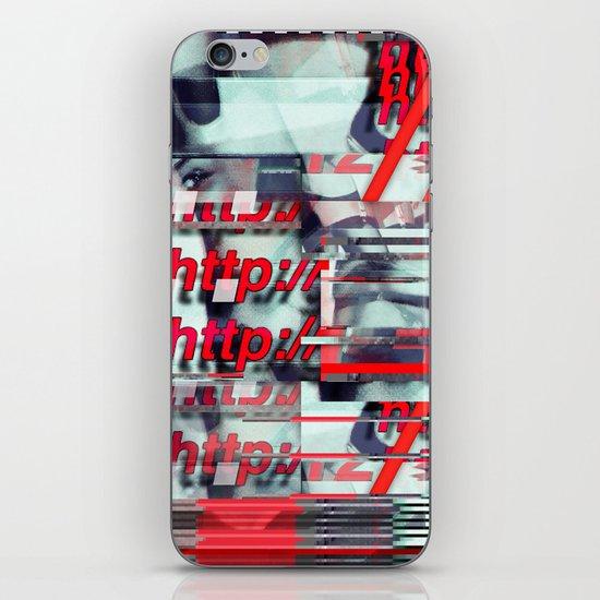 Glitch Decon 1 iPhone & iPod Skin