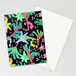 Australian Kangaroo Paw Floral in Golden Mango Stationery Cards