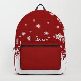 Xmas Snow 02 Backpack