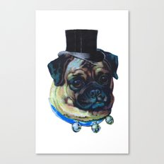 Sir Pugs Canvas Print