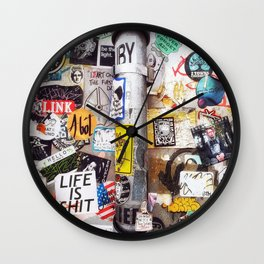 LIFE IS **IT Wall Clock
