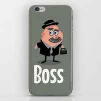 boss iPhone & iPod Skins featuring Boss by Glenn Melenhorst