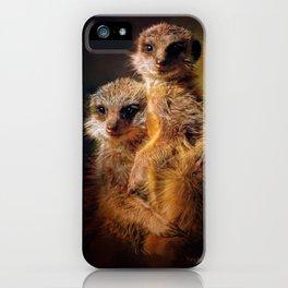 Meerkat Love iPhone Case