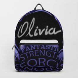 My name is Olivia Backpack