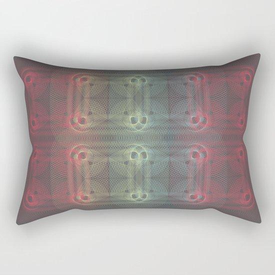 net-knots Rectangular Pillow