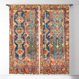 Megri Southwest  Anatolian Rug Print Blackout Curtain