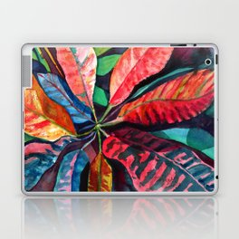 Colorful Tropical Leaves 2 Laptop & iPad Skin