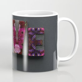Floral LOVE Coffee Mug