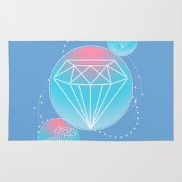 Diamond Cluster Rug