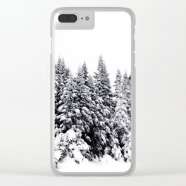 Snow Day Has Come Clear iPhone Case