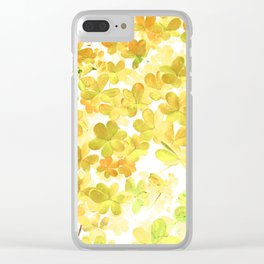 Clover XIII Clear iPhone Case
