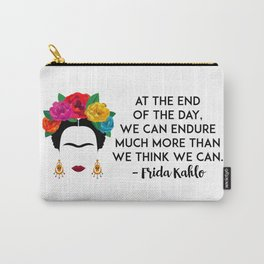 Frida's Strength Carry-All Pouch