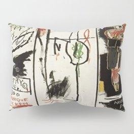 Basquiat Bird Pillow Sham