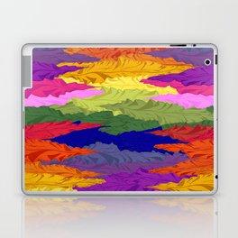 Rainbow Ripples Laptop & iPad Skin