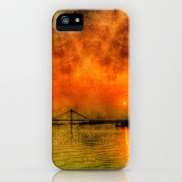 River Hugli - India iPhone Case