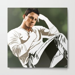 hey girl  Metal Print
