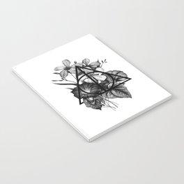 black flowers Notebook