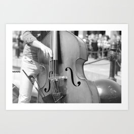 Jazz By The Harbour Art Print