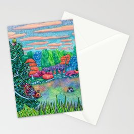 Quiet Reflection Stationery Cards