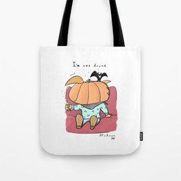D R U N K (Halloween) Tote Bag