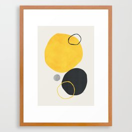 Silan Framed Art Print