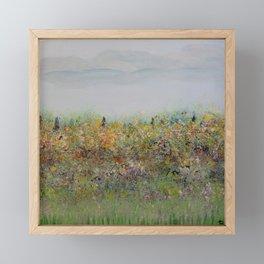 Field of Inspiration Framed Mini Art Print