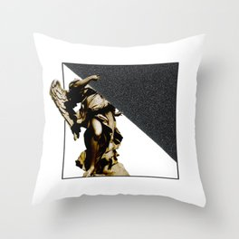 SILKINESS  -   V.white Throw Pillow