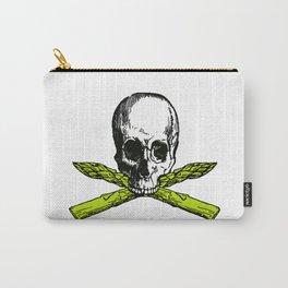 skull asparagus Carry-All Pouch