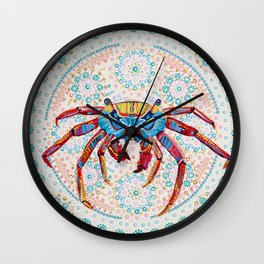 Grapsus Wall Clock