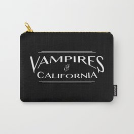 Vampires Of California Black and White Carry-All Pouch
