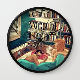 Wake up in the morning Wall Clock