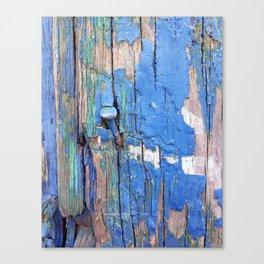 Blue Nail Canvas Print