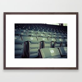 Wrigley Field Stadium Seats 1 Framed Art Print