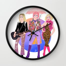 Velvet Goldmine Wall Clock